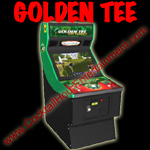 golden tee arcade game rental button