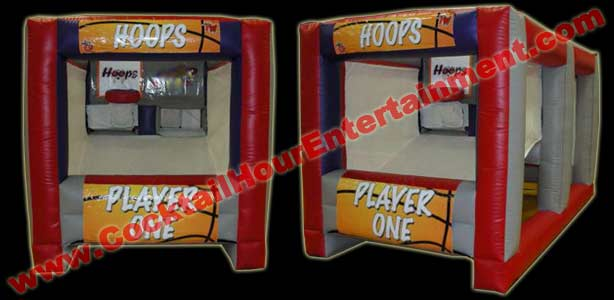 hoops arcade game rental