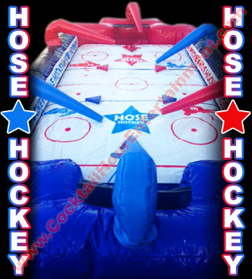hose hockey arcade game rental