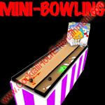 mini bowling button