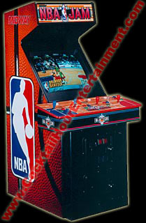 nba jam arcade game rental