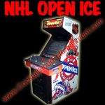 florida arcade game rental NHL open ice button