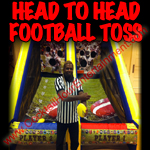 florida arcade game rental Football toss button