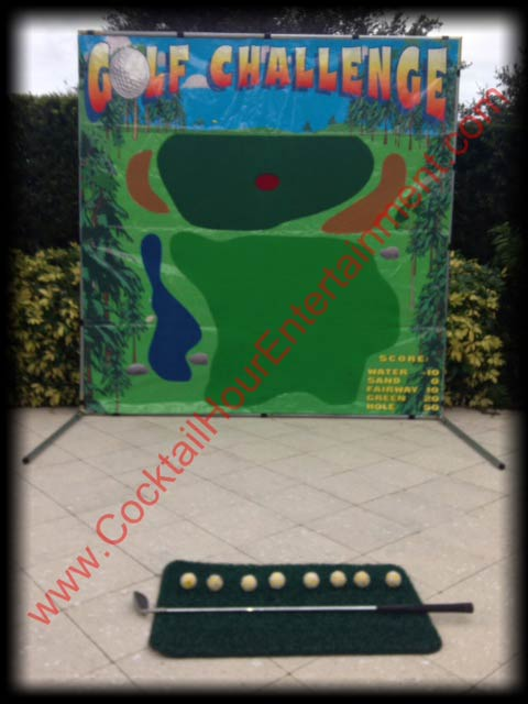 golf arcade game rental