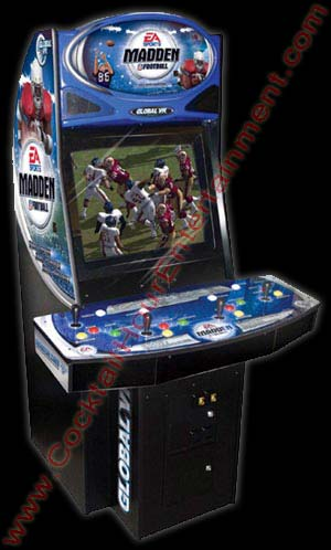 madden football arcade game rental