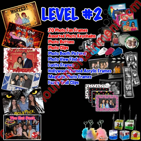 Level 2 photo favor package