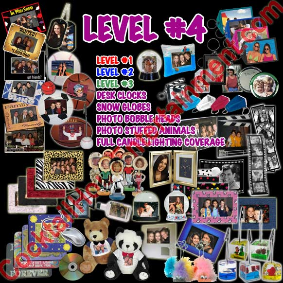 Level 4 photo favor package