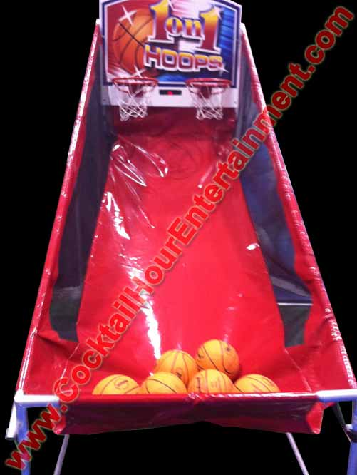 arcade rental game pop-a-shot party rental