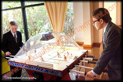 rod hockey bubble hockey dome hockey arcade game rental